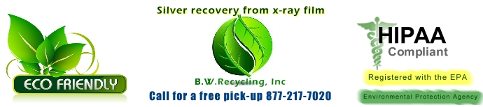 X-Ray films recycling