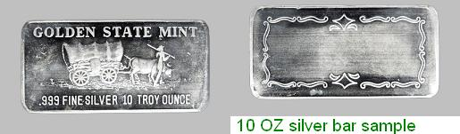 Silver recovery bar